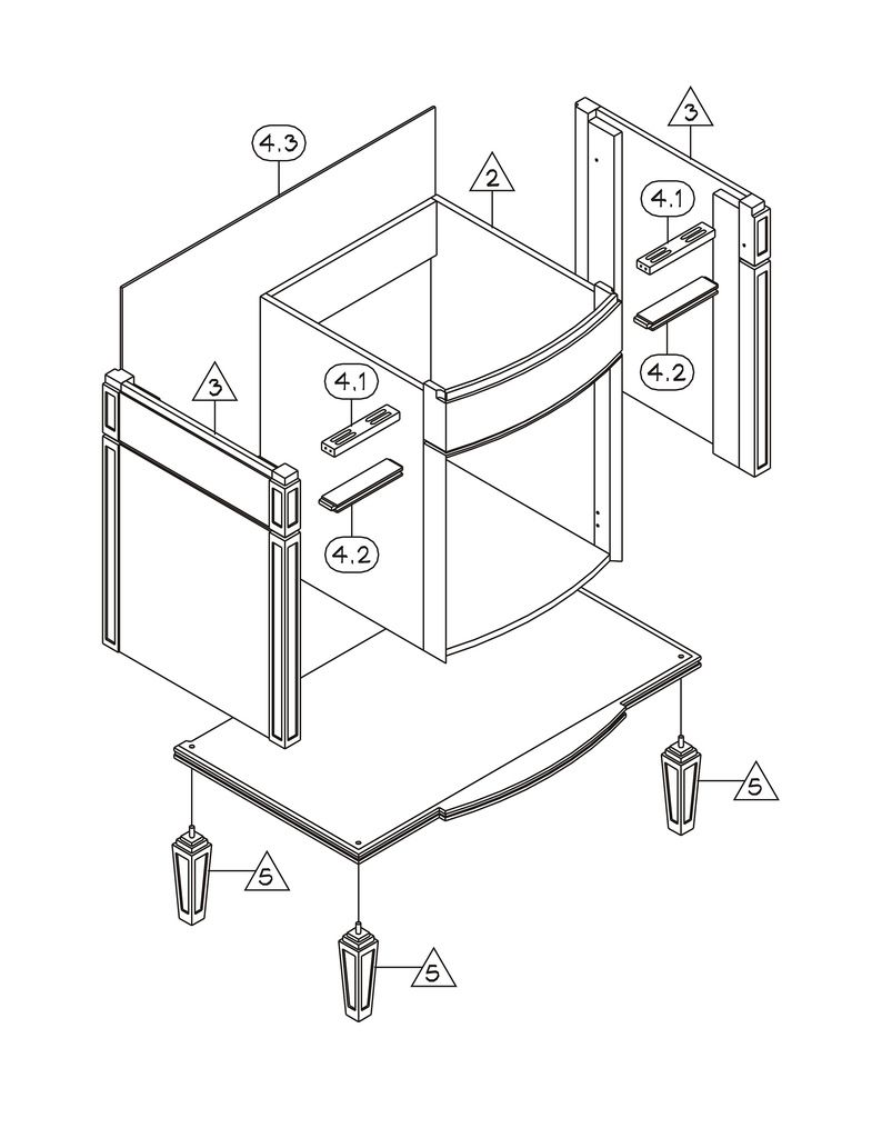 Furniture Assembly Drawing   Google Search