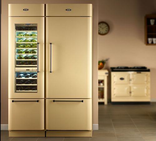 Country Kitchen Fridge: For My (Future) Home Sweet Home