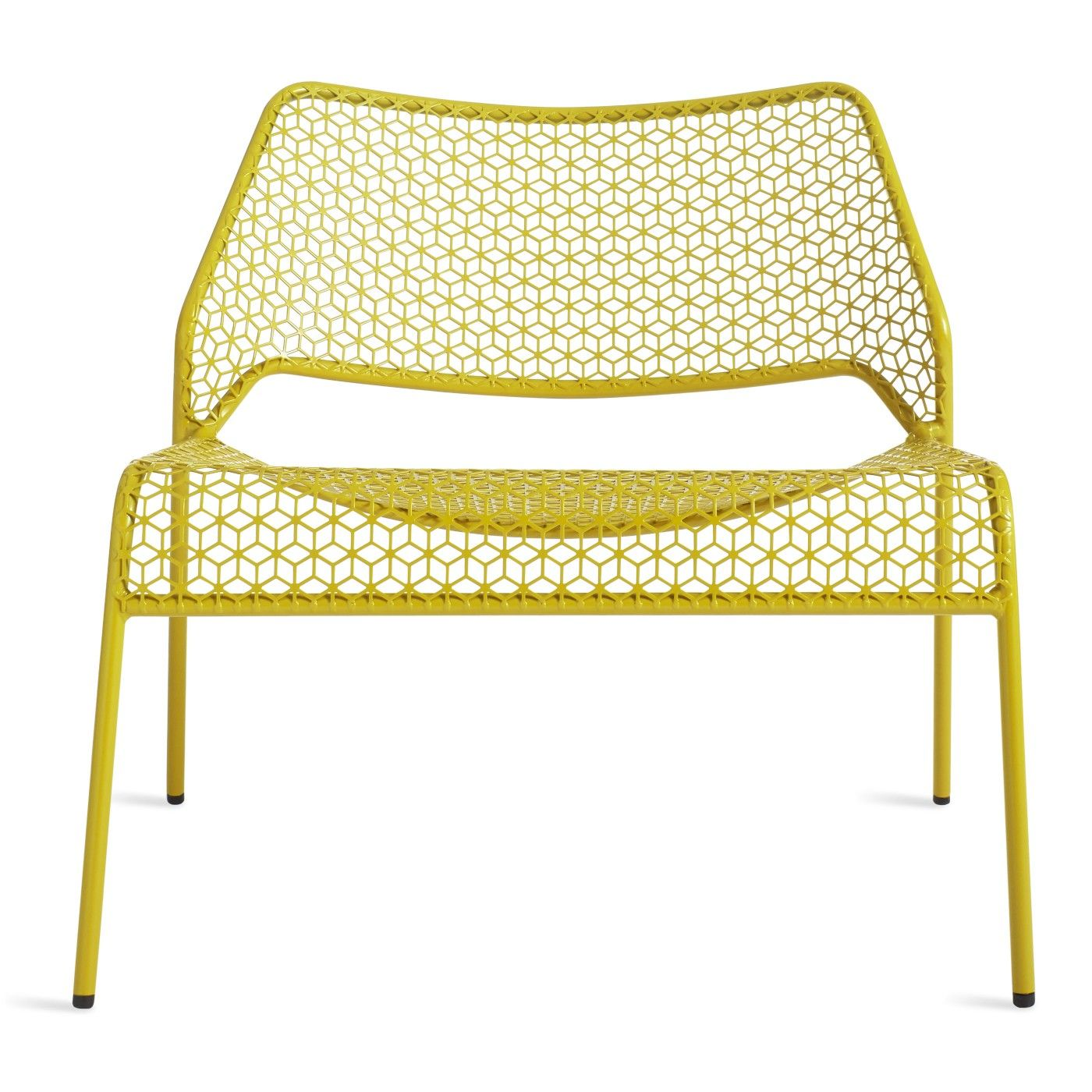 Mesh Lounge Chair Metal Patio Chairs