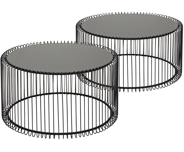 Set Tavolini Da Salotto Wire 2 Pz In 2020 Table Furniture Home Decor