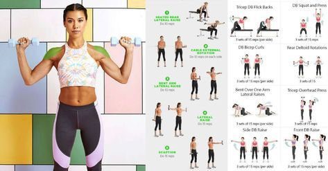 beautifully sculpted shoulders  arms for women with 6
