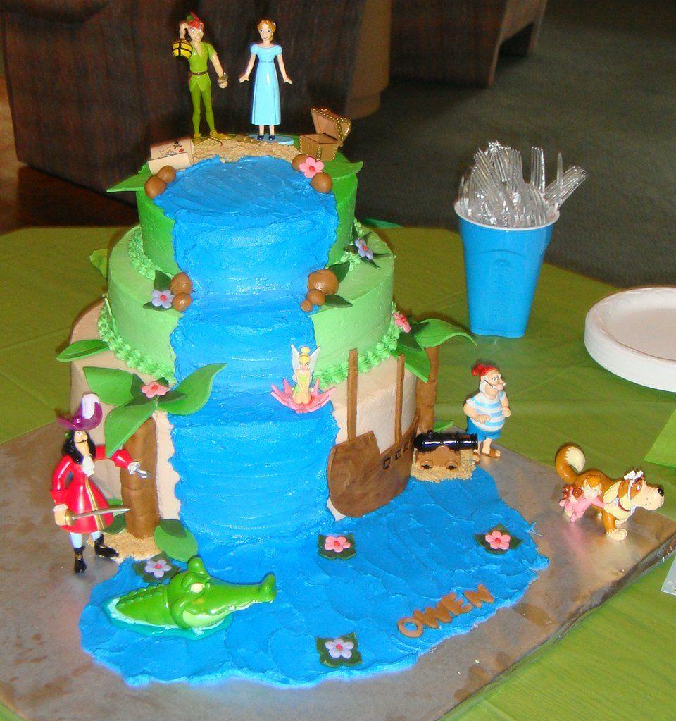 Peter Pan Baby Shower Cake | Peter Pan Baby Shower ...