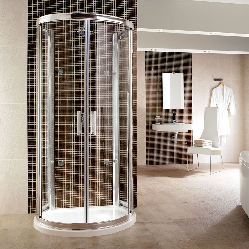 This shower looks like some type of space capsule | Home and ...