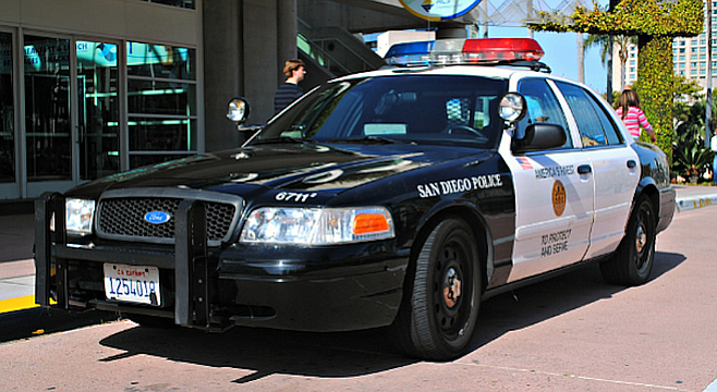 San Diego Police Car For When Blade And Easy Are Brought Back To The Hotel San Diego Police Police Cars Police