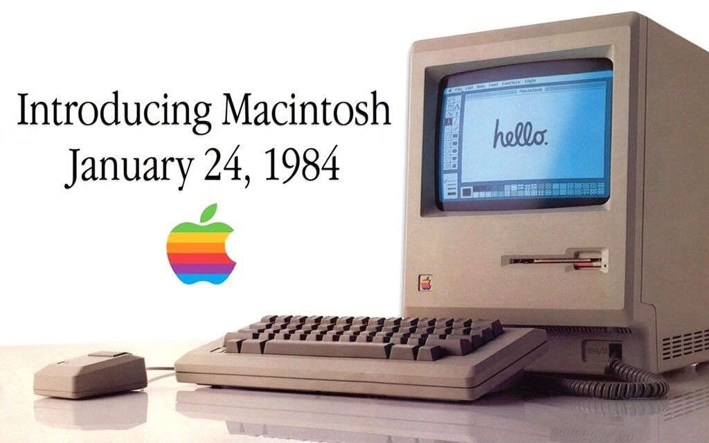 On January 24 1984 Apple Released The Macintosh Personal
