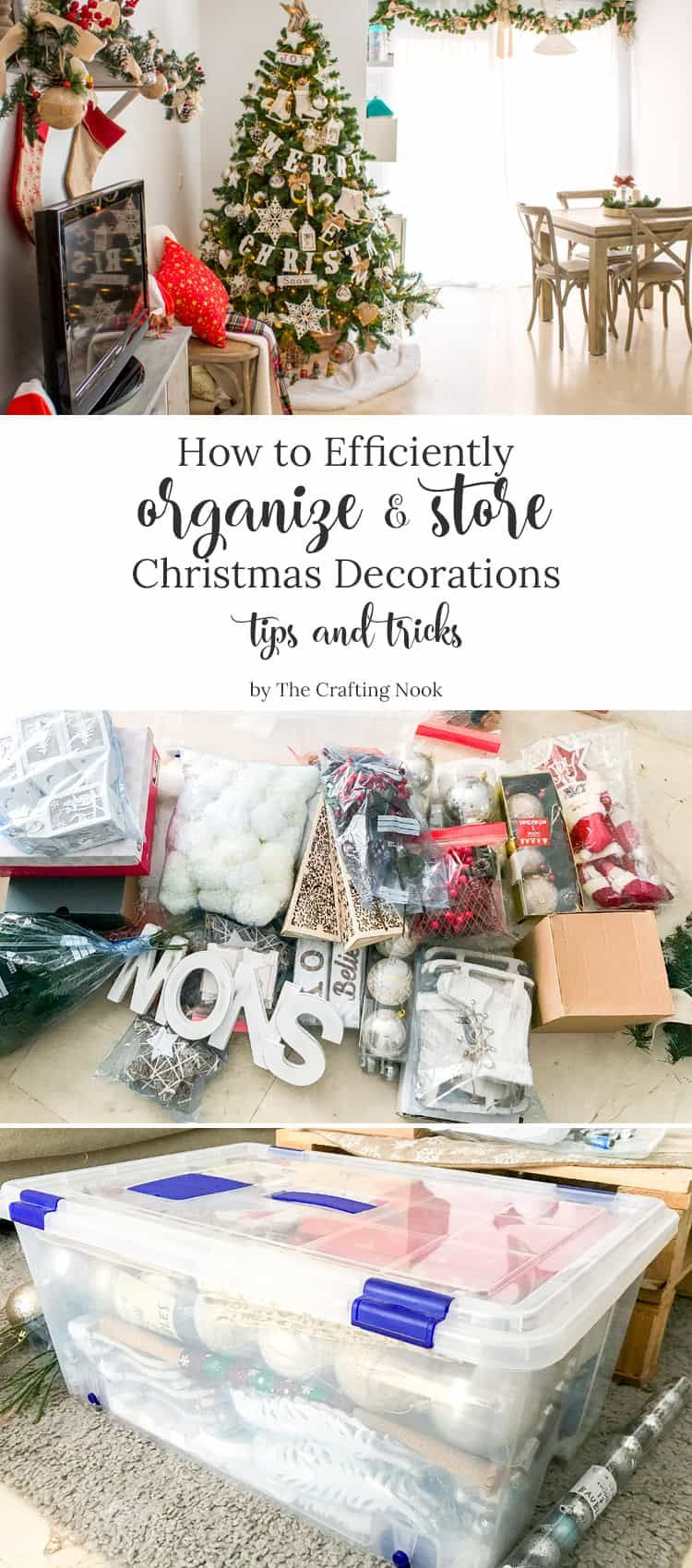 Clever Ways to Efficiently Organize and Store Christmas Decorations ...