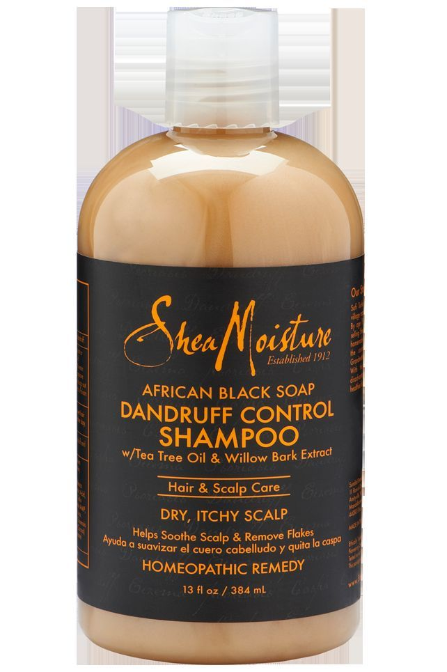 Shea Moisture African Black Soap Dandruff Control Shampoo 13 Fl Oz 2 Pack Dandruff Control Dandruff Control Shampoo Shea Moisture Products