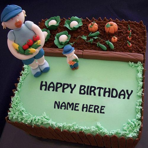 Write Name On Happy Birthday Cake For FatherPrint Fathers BirthdayBirthday Wishes To Father With His CakeCake