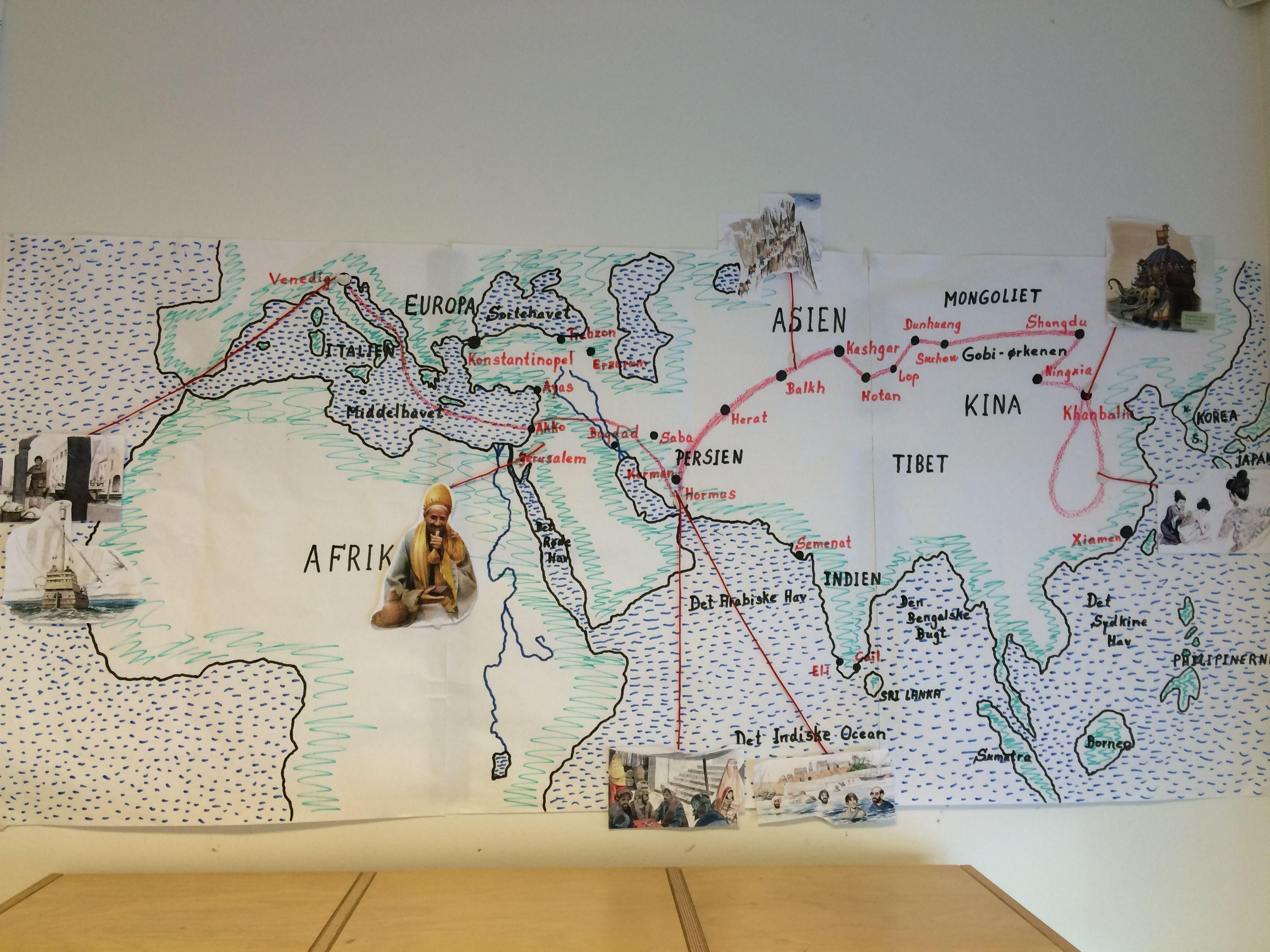 Marco Polo P Silkevejen I 5 Klasse Med Billeder