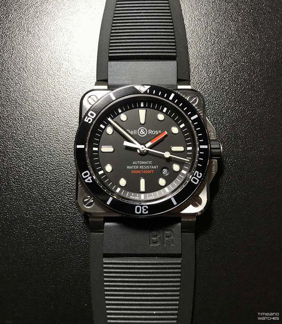 addff97fda1d Bell & Ross - BR 03-92 Diver | Watch | Bell ross, Watches, Rolex watches
