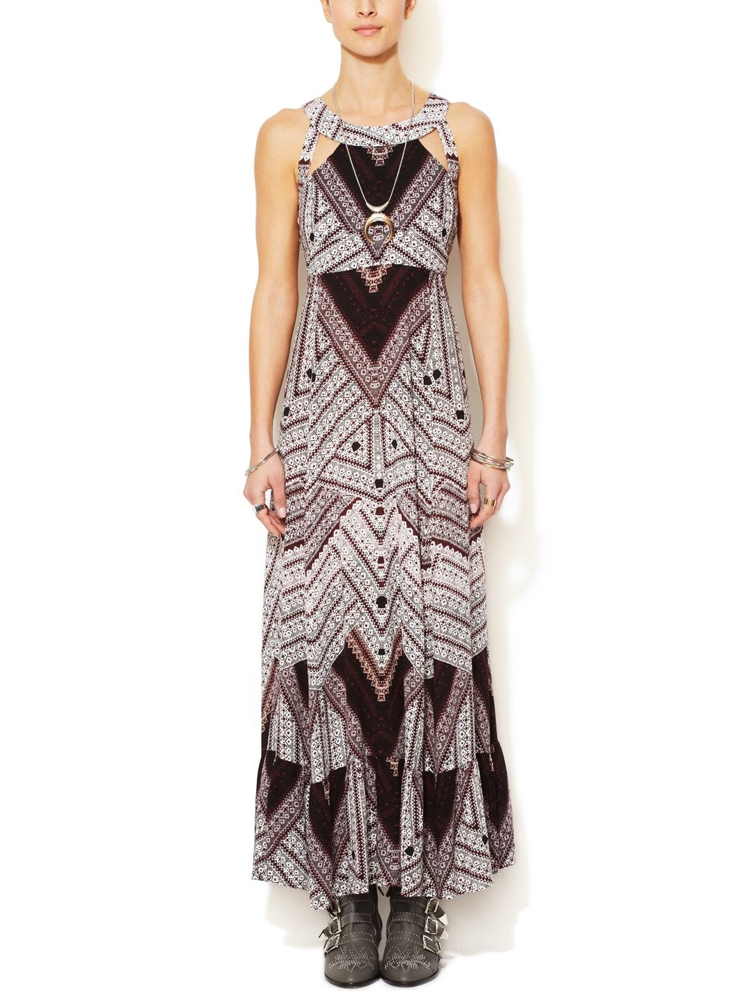You Made My Day Printed Maxi Dress by Free People at Gilt $170, only $70 on gilt