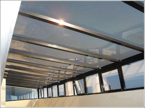 Estructuras de policarbonato usado como techos - Techos decorativos de madera ...