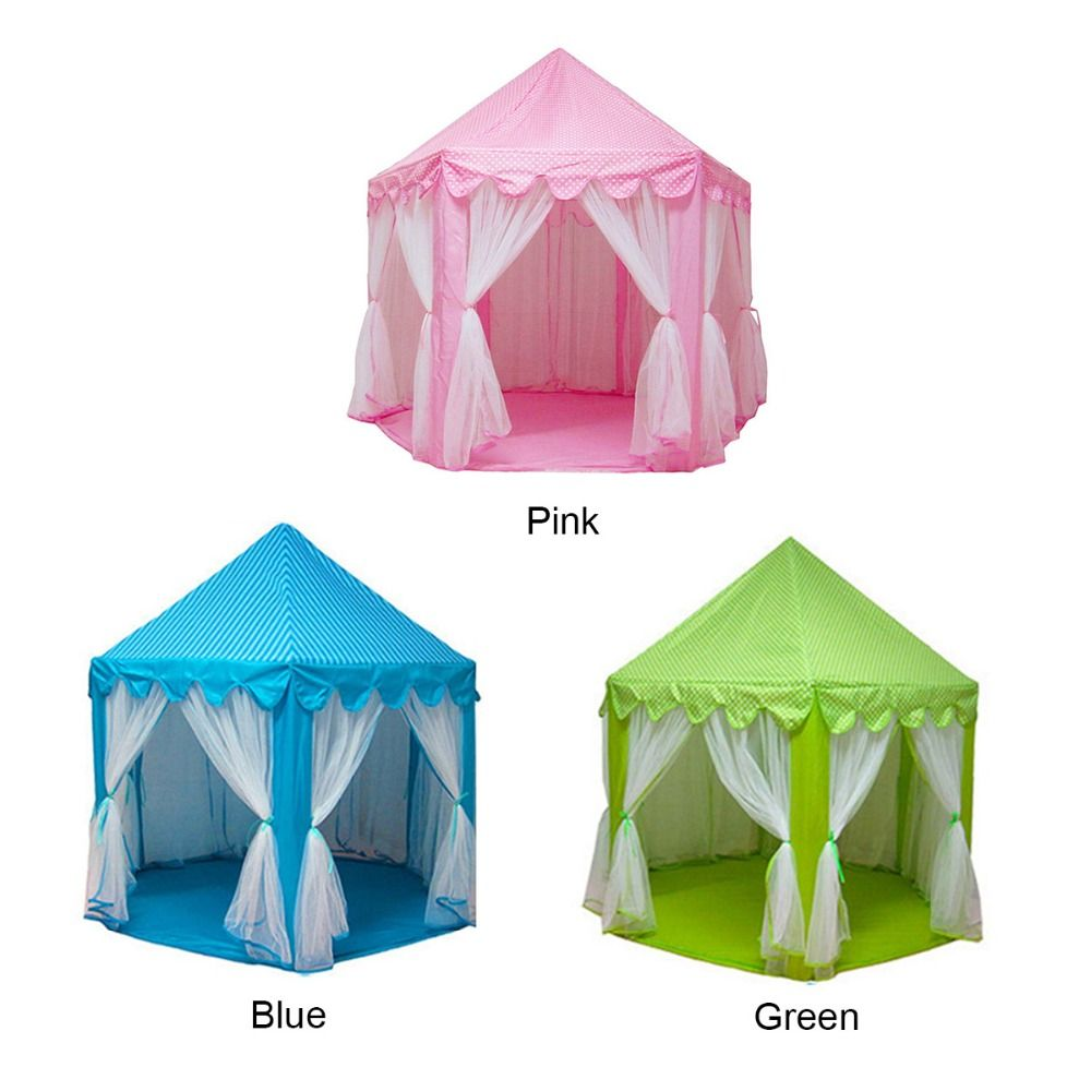 princess castle fairy large capacity portable foldable toy tents girls children outdoor activity indoor game play  sc 1 st  Pinterest & princess castle fairy large capacity portable foldable toy tents ...