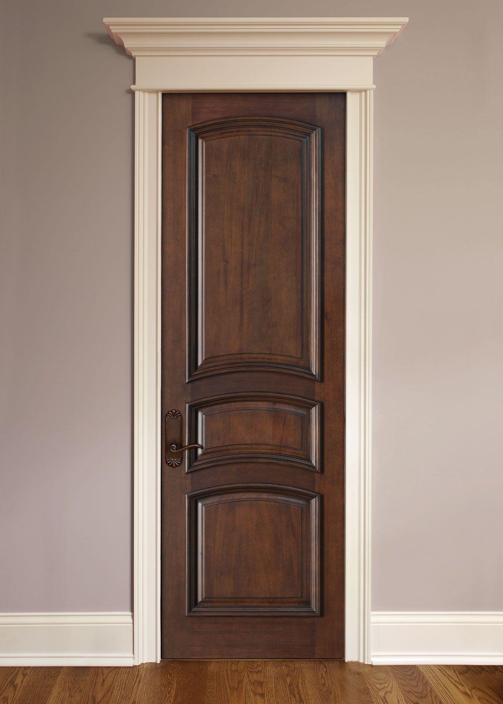 artisan mahogany solid wood front entry door single dbi3030r