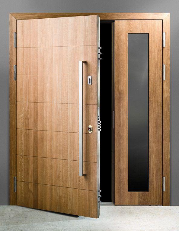 solid oak doors - Google Search - Large modern d handle ...