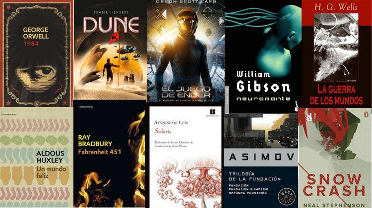 Selección De Los 14 Mejores Libros De Ciencia Ficción De La Historia Descubre Algunos De Los Grandes Clásicos Libros De Ciencia Ciencia Ficcion Libros Libros