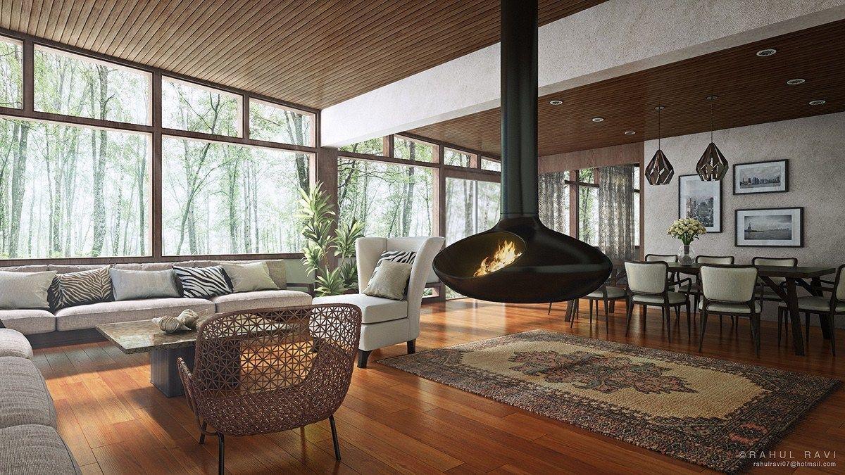 Innenarchitektur wohnzimmerfarbe home  living rooms that transcend design eras  pinterest