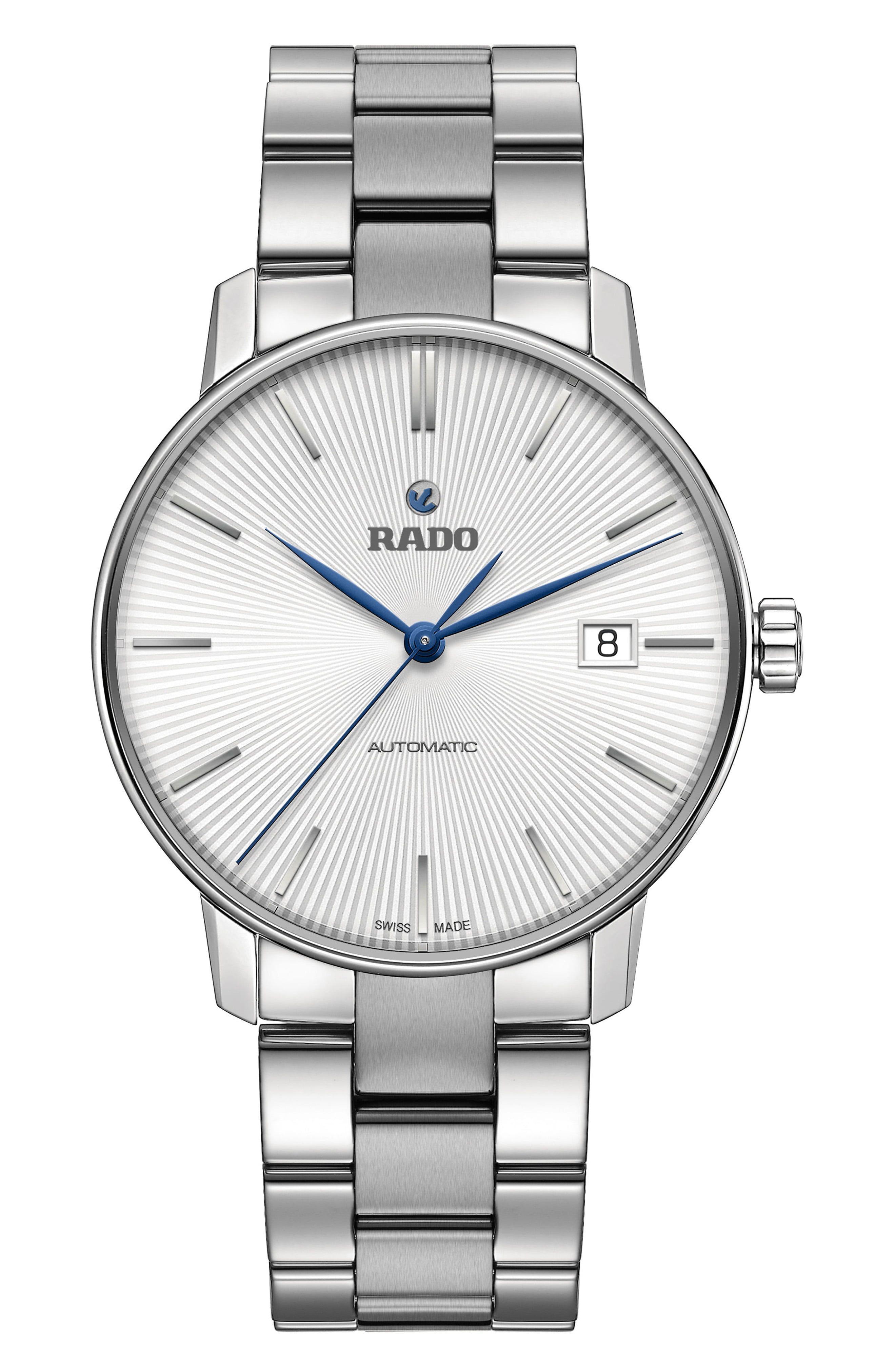 Rado Coupole Classic Automatic Bracelet Watch 37 7mm Nordstrom Bracelet Watch Stainless Steel Bracelet Womens Fashion Jewelry