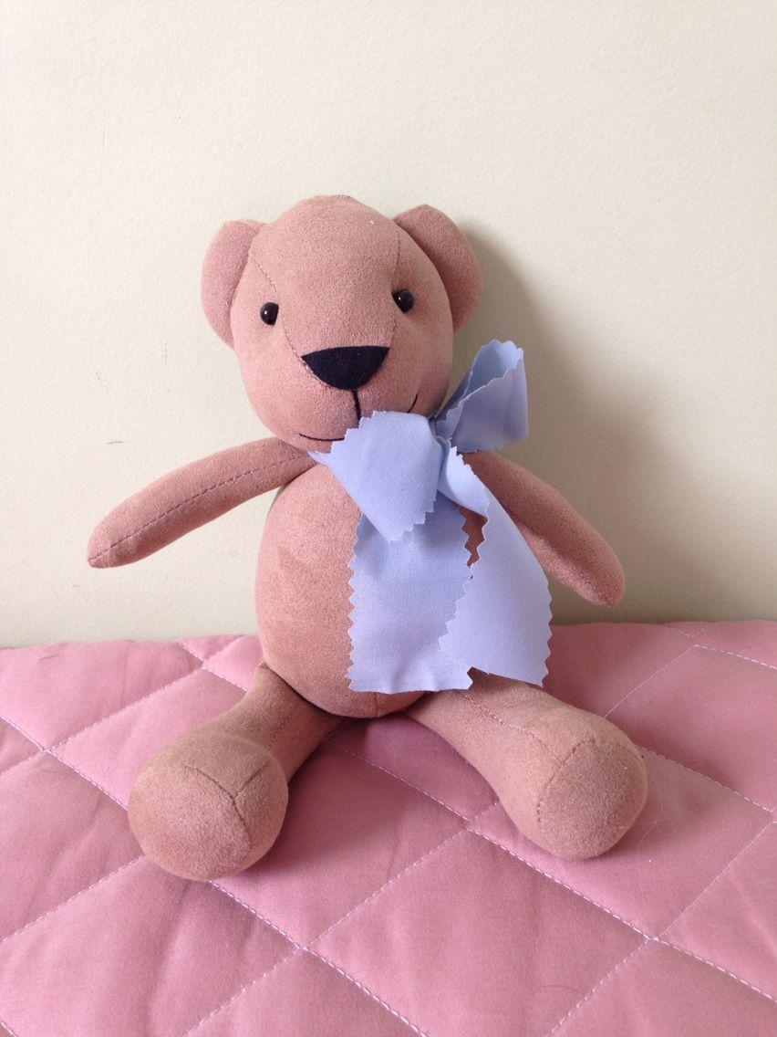 Urso em tecido