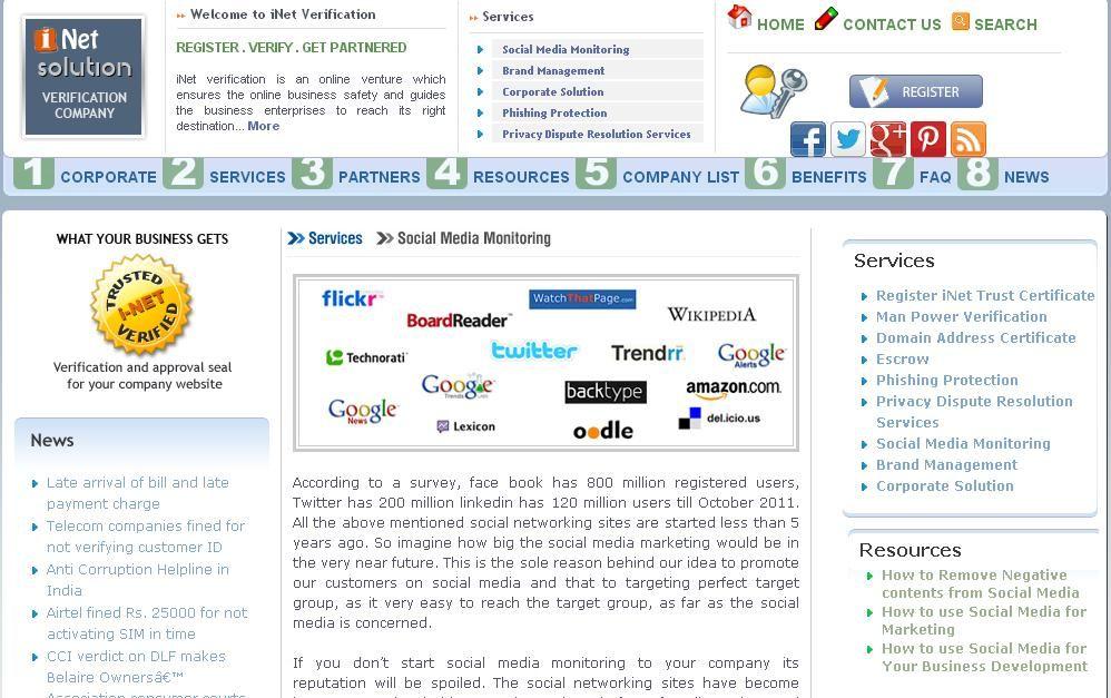 social media mointoring Brand management, Safety guide