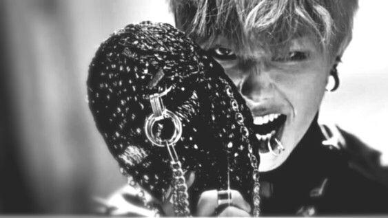 Block B Very Good U-kwon  Piercings Mask