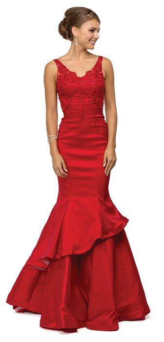88e082f69ee Dancing Queen DQ-9457 Dancing Queen Prom Dresses