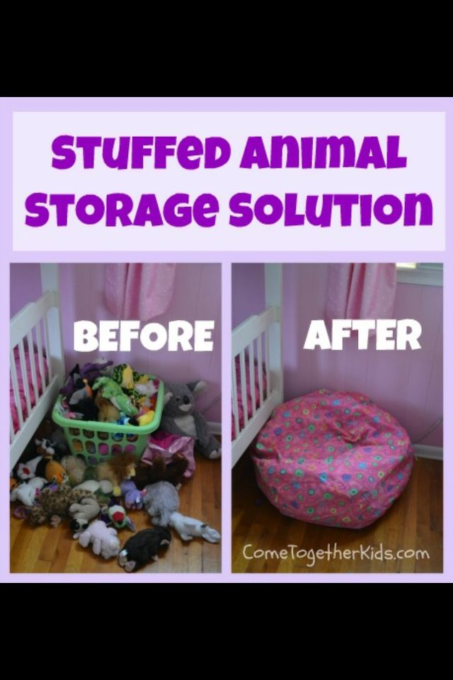 Stuffed Animal Bean Bag Chair