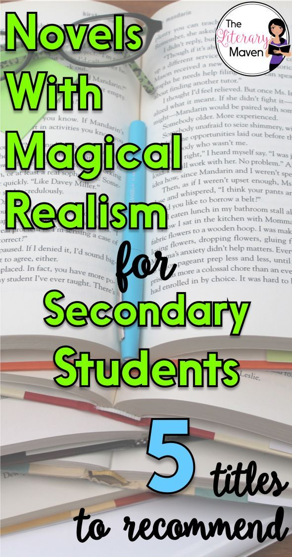 003 5 Young Adult Novels to Help You Teach Magical Realism