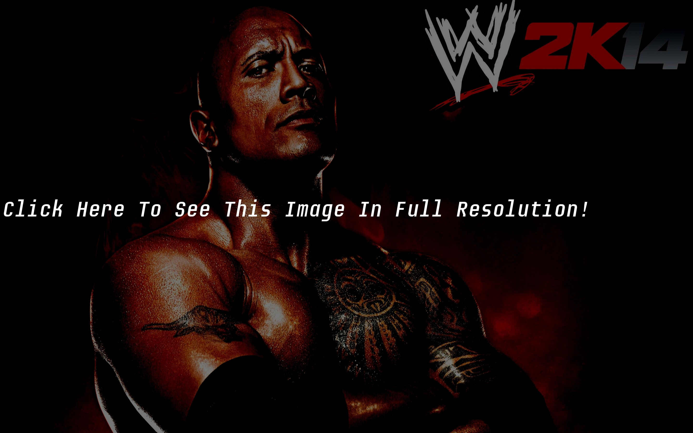 wwe 2k14 game the rock desktop wallpaper hd | verywallpapers