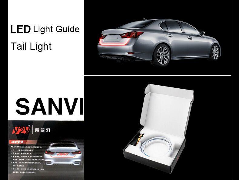 2017 Newest Coming Sanvi Super Bright Flexible Tail Light Drl