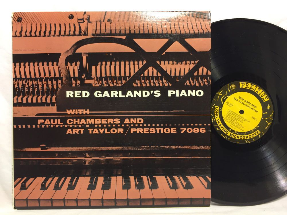 Red Garland Quot Red Garland S Piano Quot Jazz Lp Prestige Lp