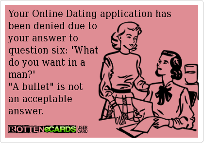 What has been your experience with online dating services?