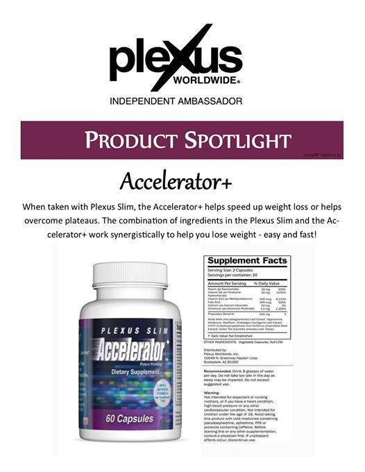 Plexus Accelerator+
