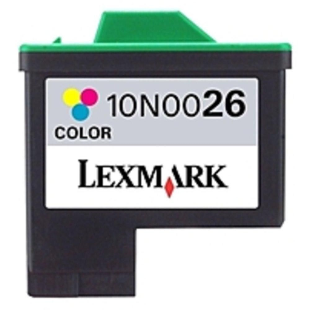 Lexmark No 26 Standard Yield High Resolution Color Ink Cartridge For Printers