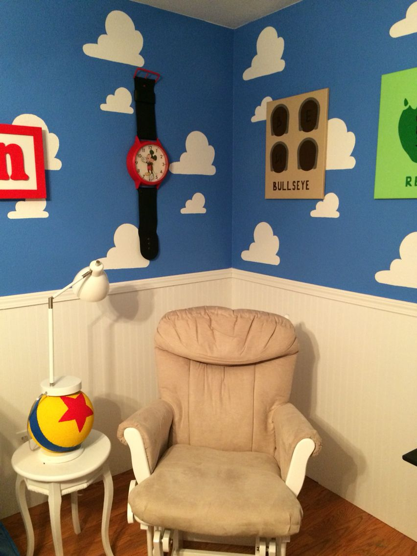 Luxo Jr Lamp Mickey Watch Super Comfy Glider Toy Story Nursery Toy Story Bedroom Toy Story Room