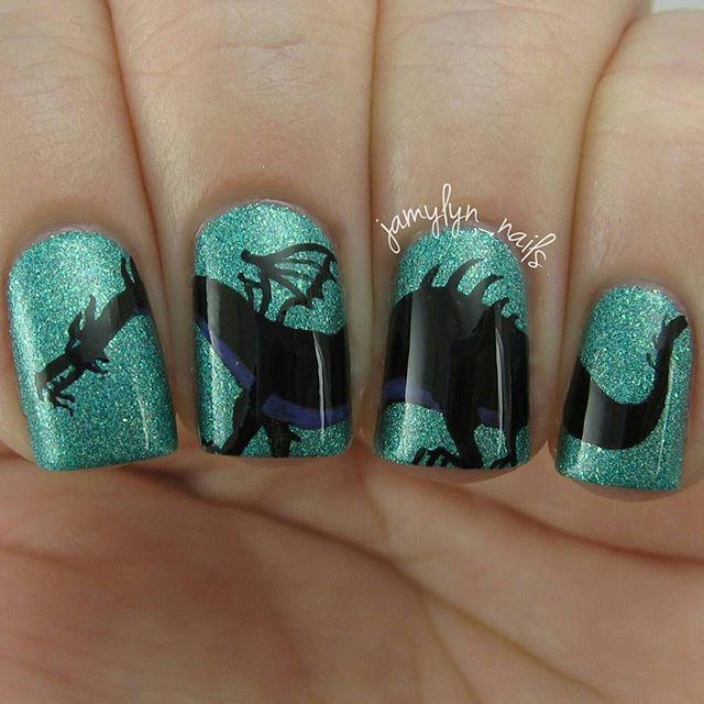 Instagram Media Jamylynnails Dragon Nail Nails Nailart