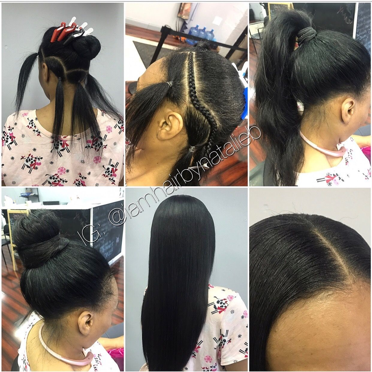 versatile sew-in hair weaveno humps or lumps! can be