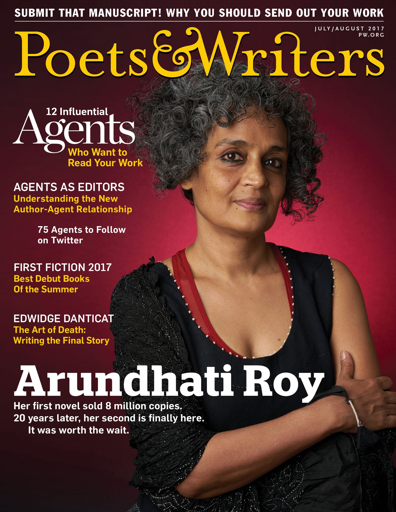The July/August 2017 issue of Poets & Writers Magazine