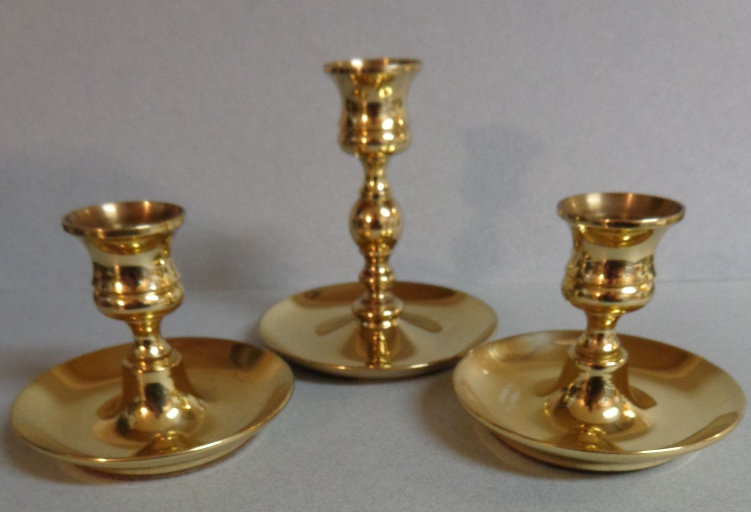 Baldwin other brass taper candle holders candlesticks at