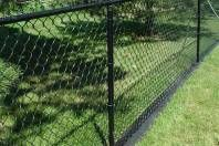 A Thick Rubber Like Material That Goes Under Your Fence On Property Line To Control Weeds And Prevent Having Somehow Maintain At