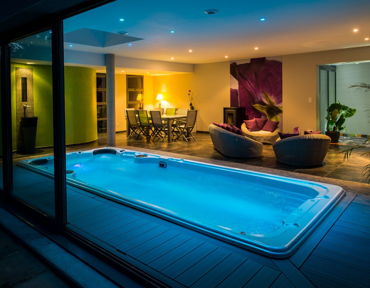 The 19ft Aquasport Swim Spa From Hydropool Swim Spas Is One Of The Biggest Swim Spas In The