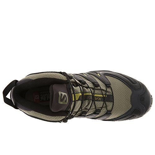 Salomon Mens XA PRO MID GTX Hiking Shoe GreenBlackCorylus 7pI1f