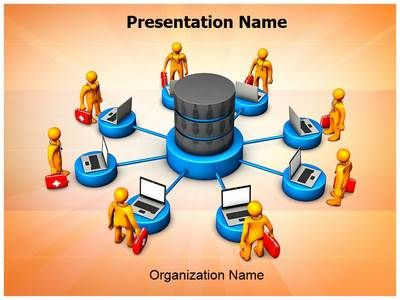 Medical Databases Powerpoint Presentation Template Is One Of The