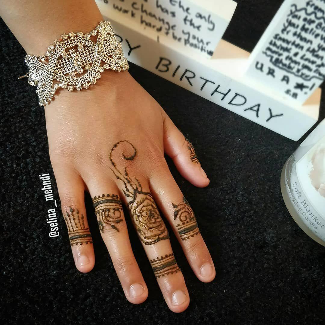 Its her birthday henna mendhi mandala