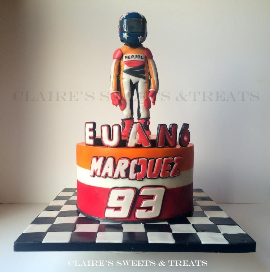Marc Marquez Birthday Cake