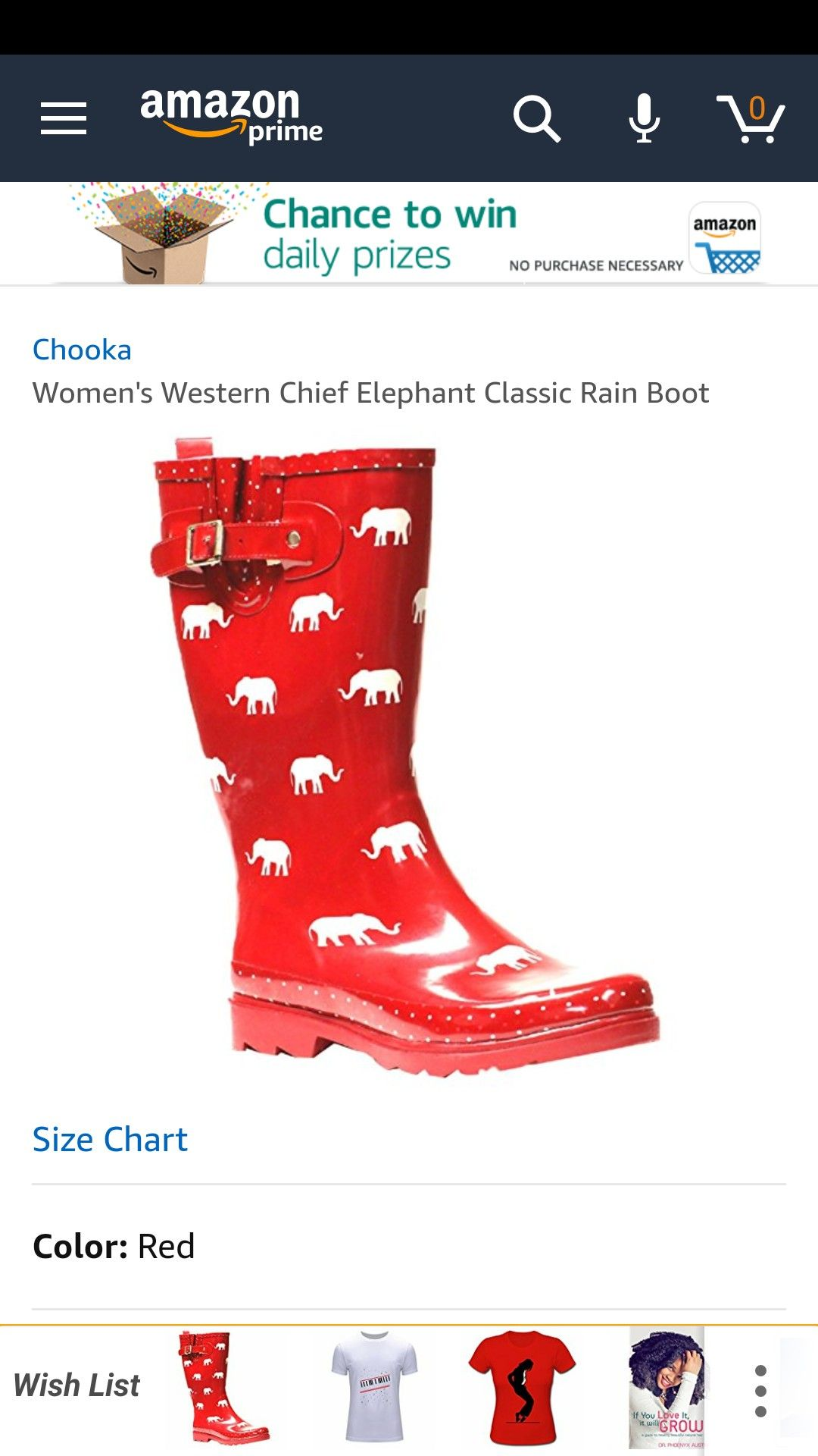 f2ea2846c28bc Red elephant rain boots on Amazon! | Delta Sigma Theta in 2019 ...