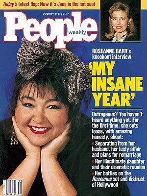 photo | Kids & Family Life, Famous Comedians, Roseanne Cover, Too Crazy to Believe, Roseanne Barr