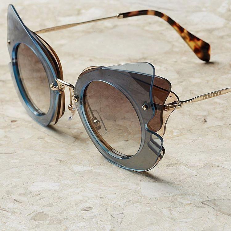 886b8aca75a Miu Miu - Butterfly Sunglasses