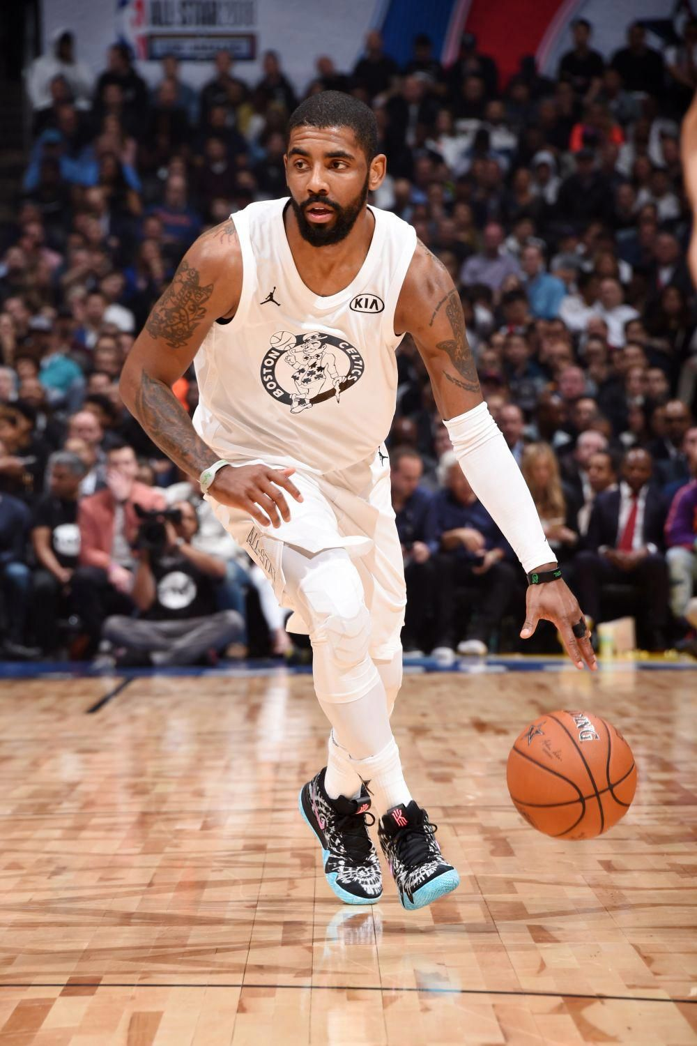 Kyrie Irving debuts new Nike Kyrie 4 'All Star' sneaker