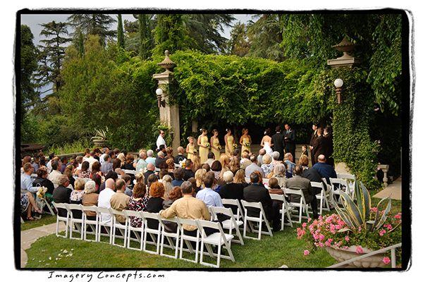 Kimberly Crest Mansion Garden Wedding